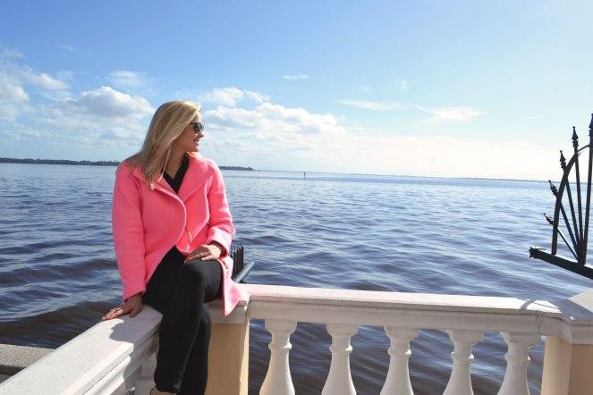 Pink-jackets